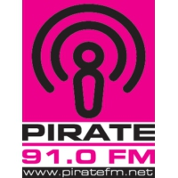 Logo of radio station Pirate FM 91