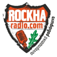 Logo of radio station ROCKHA Radio