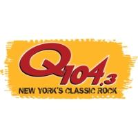Logo of radio station Q104.3
