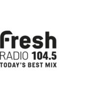 Logo de la radio CFLG-FM 104.5 Fresh Radio