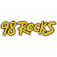 Logo of radio station KTAL 98 Rocks