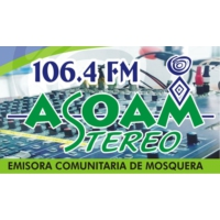 Logo of radio station Asoam Stereo 106.4 FM