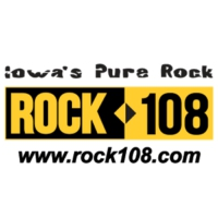 Logo of radio station KFMW Rock 108