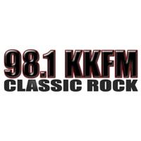 Logo of radio station KKFM 98.1Classic Rock