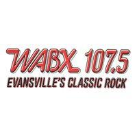 Logo of radio station WABX 107.5