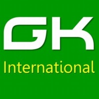 Logo of radio station GK International