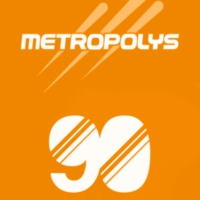 Logo of radio station Metropolys 90