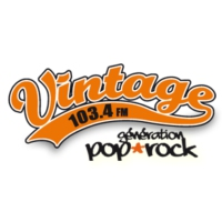 Logo of radio station Radio Vintage 103.4 FM
