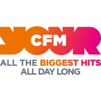 Logo of radio station CFM