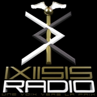 Logo of radio station IXIISIS Radio
