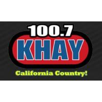Logo of radio station KHAY 100.7