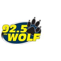 Logo of radio station KWOF 92.5 The Wolf