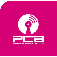 Logo of radio station Pink City Beats PCB