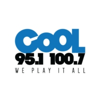 Logo of radio station 100.7 Cool