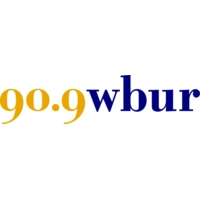 Logo of radio station WBUR 90.9 FM