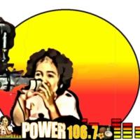 Logo of radio station POWER  106.7 SAMOA