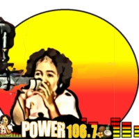 Logo of radio station POWER  106.7 SAMOA