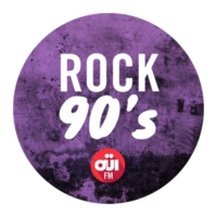 Logo of radio station OUI FM Rock 90's