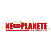 Logo of radio station Néo Planète