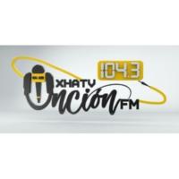 Logo of radio station XHATV Unción FM 104.3
