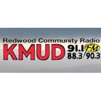Logo of radio station KMUD 91.1 fm