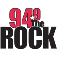 Logo of radio station CKGE-FM 94.9 The Rock FM
