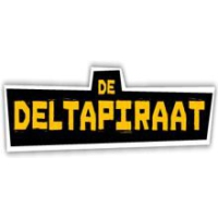 Logo of radio station Deltapiraat FM
