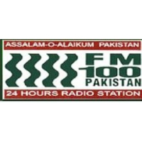 Logo of radio station FM 100 Karachi