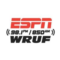 Logo of radio station ESPN 98.1 FM – 850 AM WRUF