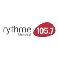 Logo de la radio Rythme FM 105.7