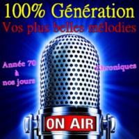 Logo de la radio 100% Génération