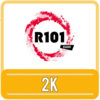 Logo of radio station R101 2K
