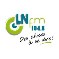 Logo of radio station LN FM
