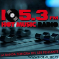 Logo of radio station HoT MusiC 105.3