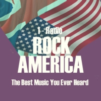 Logo of radio station 1-Radio ROCK AMERICA