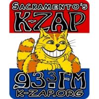 Logo of radio station Sacramento's K-ZAP