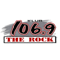 Logo of radio station KLUB 106.9 FM