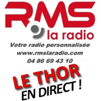 Logo of radio station RMS LE THOR