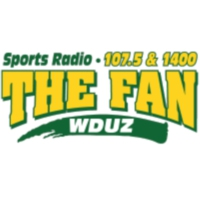 Logo of radio station WDUZ 107.5