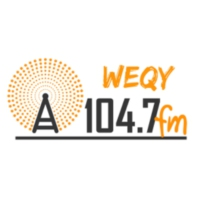 Logo of radio station WEQY 104.7 FM