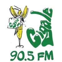 Logo of radio station Cigale FM