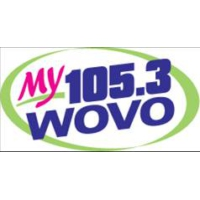 Logo of radio station WOVO MY 105.3
