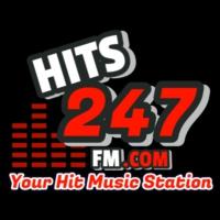 Logo of radio station Hits247fm