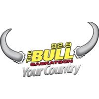 Logo of radio station 92.9 The Bull