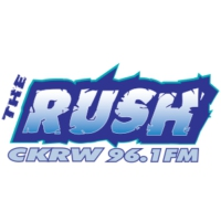Logo de la radio CKRW-FM The Rush