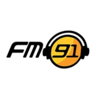 Logo of radio station FM91