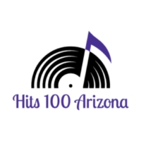 Logo of radio station Hits 100 Arizona