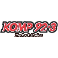 Logo of radio station KOMP