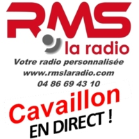 Logo of radio station RMS CAVAILLON