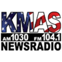Logo de la radio KMAS 1030 AM